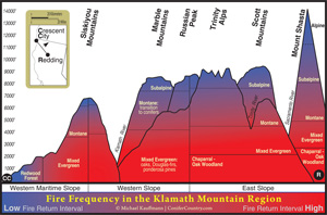 Klamath Mountain Fire Return Interval